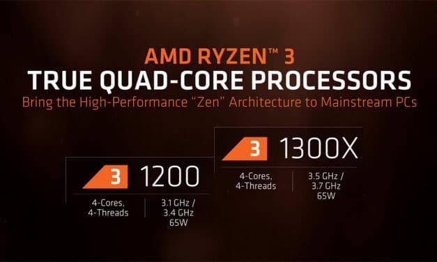AMD a lansat Ryzen 3. Cat costa acestea?