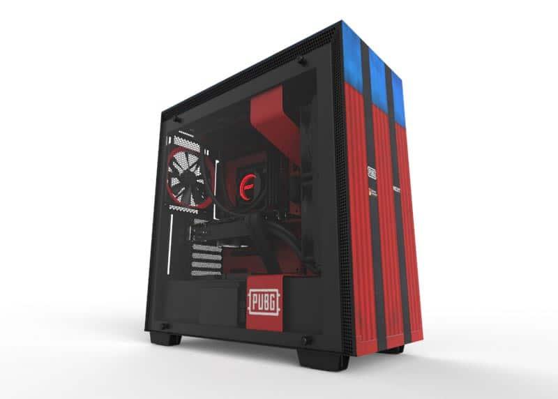 NZXT lanseaza o carcasa de gaming speciala pentru PUBG