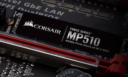 Corsair a lansat noul SSD MP510 din gama Force Series