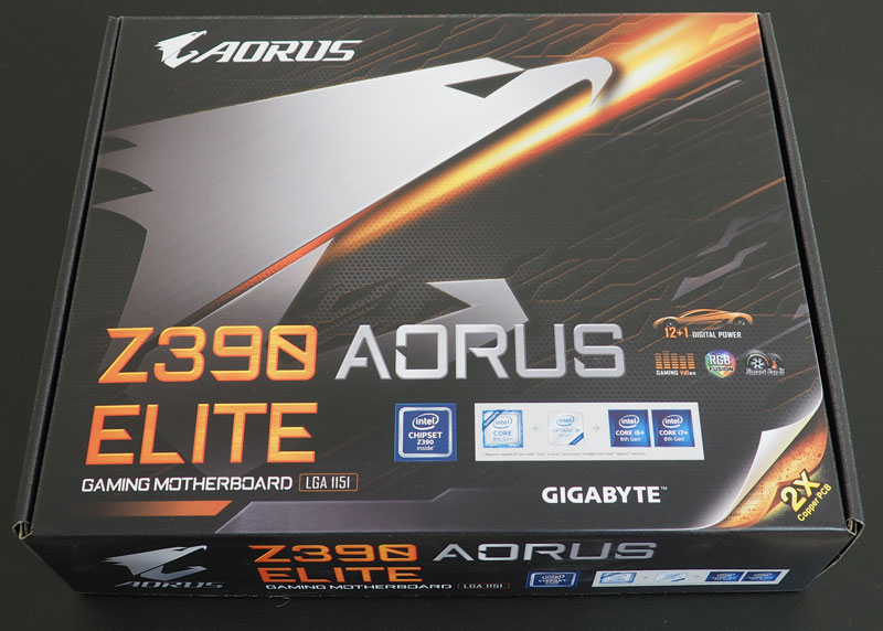 Review placa de baza Gigabyte Z390 Aorus Elite