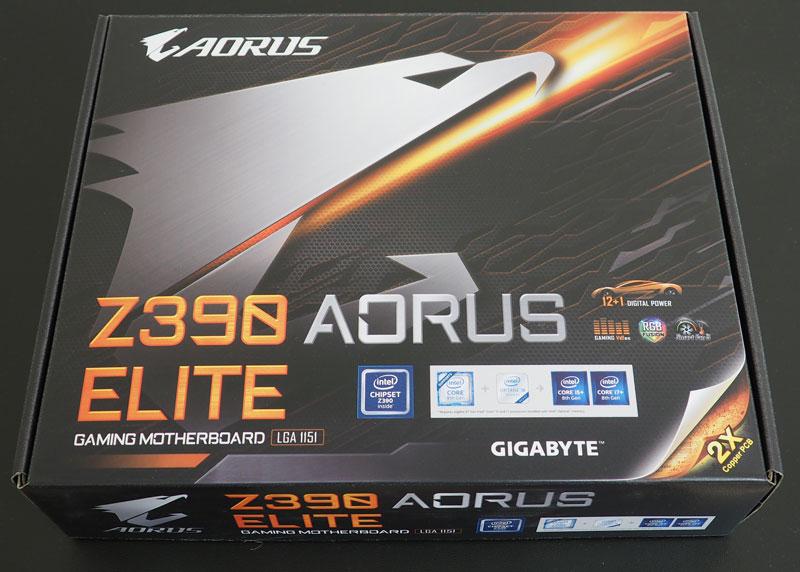 Review placa de baza Gigabyte Z390 Aorus Elite